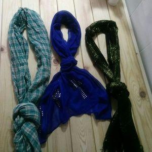 Scarves LOT of 3 scarves