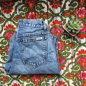 Bill Blass Mom Jeans High Waisted Vintage Trend