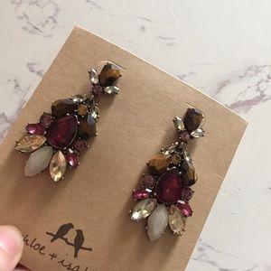 Chloe + Isabel Jewelry - Bouquet Statement Earrings
