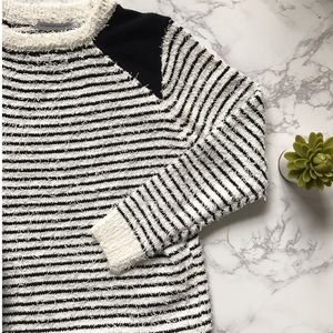 Goodnight Macaroon Sweaters - NWT Boutique B&W Stripe Sweater