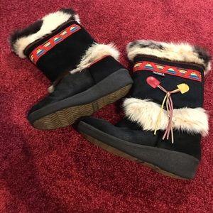 Tecnica Shoes - SALE Tecnica Goat Fur Vintage Boots
