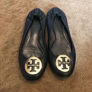 Tory Burch Shoes - GUC Tory Burch Reva Ballet Flats - 7.5