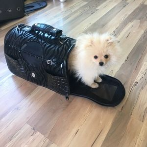 Tumi Handbags - Small dog bag/carrier