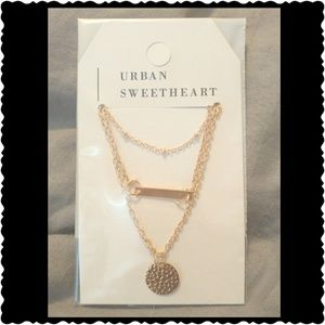 Urban Sweetheart Jewelry - 🚨SALE 🚨🎉 Amy Gold Bar Necklace