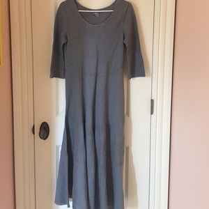 Elemente Clemente Dresses & Skirts - Elemente Clemente Gray Linen Dress