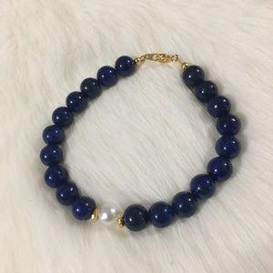 Jewelry - Handmade Lapis bracelet