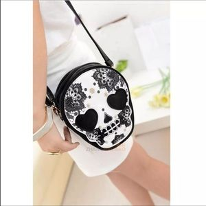 Handbags - Skull Crossbody purse NEW in bag