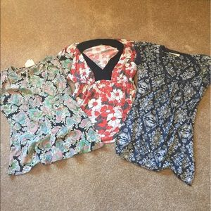Three Vintage Anthropologie Tops All For One Price