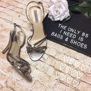Classiques Entier Shoes - Classiques Entier Platinum Strappy Sandals