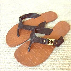 Tory Burch Shoes - Black Tory Burch Sandals