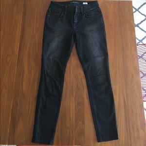 Stella Jean Denim - STELLA slouchy skinny jeans in faded black