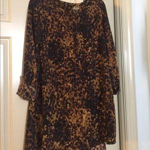 Merona printed shift dress