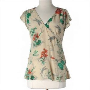 Anthropologie Tops - Anthro blouse size 2