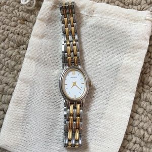 Pulsar Accessories - Pulsar Silver & gold watch, needs a battery