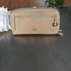 Wilsons Leather Handbags - Wilson Leather Wallet / Raw Cowhide
