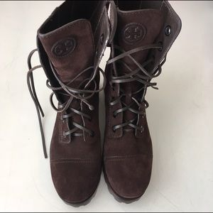 Tory Burch Shoes - Tory Burch Broome Suede Boots New without box  8