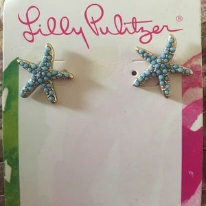 Lilly Pulitzer Jewelry - Lilly Pulitzer Starry earrings .