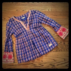Odd Molly embroidered blouse sz 2 M (8/10)