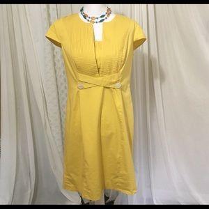 Chadwicks Dresses & Skirts - Yellow Chadwicks spring/summer dress - 12 petite