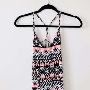 Boohoo Petite Dresses & Skirts - Aztec Print Maxi-dress with Strappy Back