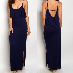 Dresses & Skirts - 1S, 1L Navy Maxi Dress