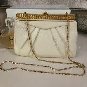 Judith Leiber Handbags - Vintage Judith Leiber python shoulder bag