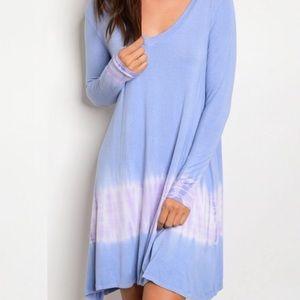 peach love california Dresses & Skirts - Peach Love California Tie Dye Dress