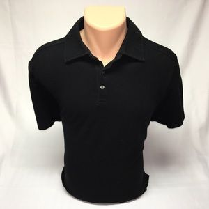 Black Brown 1826 Other - Black Brown slim fit polo (M)