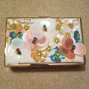 Nicole Lee Handbags - Nicole Lee Jeweled Clutch