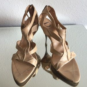 Dior Shoes - REDUCED ‼️💯 Authentic Dior strappy  👠 heels