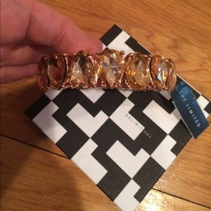 Gorgeous Rose Gold Statement Bracelet NWT