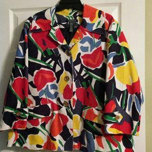 Ralph Lauren Floral Pattern Jacket