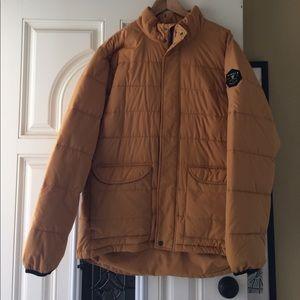 VISSLA Other - Vissla puffer tan jacket size x-large