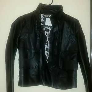 My Michelle faux leather jacket