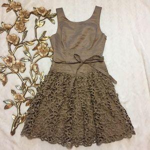 Robert Rodriguez Dresses & Skirts - Robert Rodriguez Mocha Floral Butterfly Dress