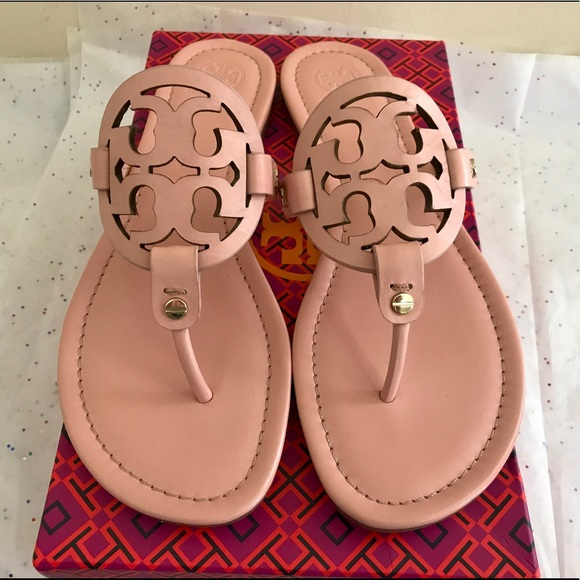 d970abea429f5 ❤ 💕Tory Burch Clay Pink Miller Sandals