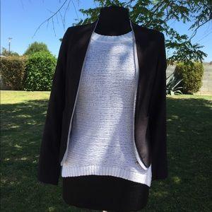 Ark & Co Jackets & Blazers - ark & co. Rayon Linen blend Black Blazer - SMALL