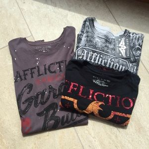 Affliction Other - Men's Affliction Tees 3XL