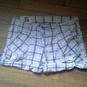 1st Kiss Pants - Plaid shorts