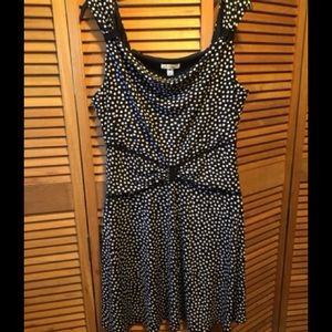 En Focus Dresses & Skirts - En Focus Black and White Polka Dot Dress