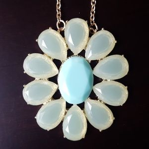 Jewelry - Turquoise Flower Necklace