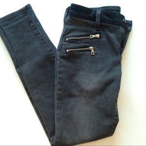 Joe's Jeans Women's Black Skinny Ankle Rocker, 26