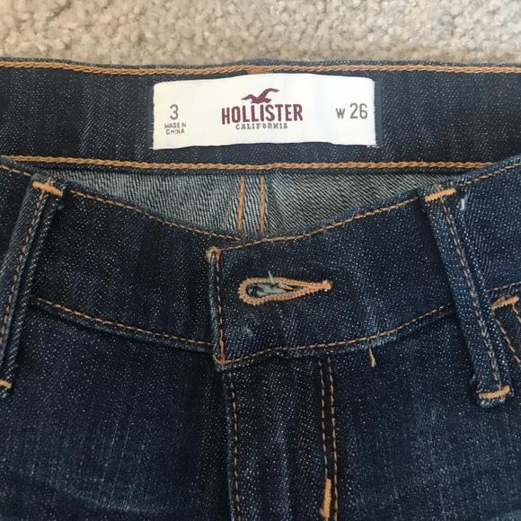 Hollister Shorts - Denim Hollister Shorts Sz 3