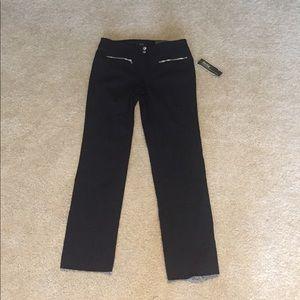 Alfani Pants - Slim Leg Tummy control black pants