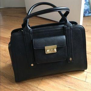 3.1 Phillip Lim for Target Handbags - Medium sized black leather handbag