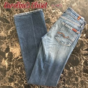 7 For All Mankind Denim - 7 For All Mankind Bootcut Jeans Size 25