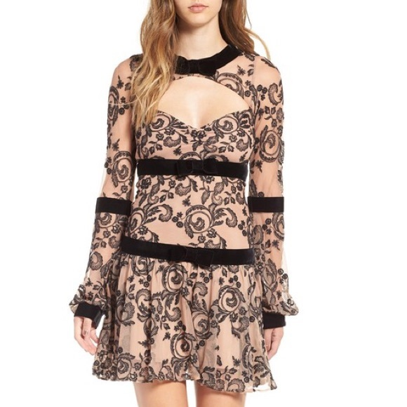 b26aa9ca6ea ⚡️SALE!! NEW FOR LOVE   LEMONS Clemence mini dress