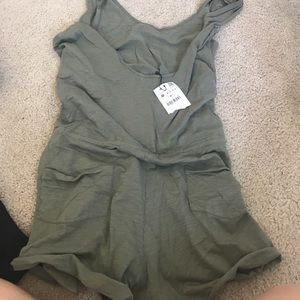 Zara Pants - Zara romper army green M