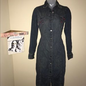 GUESS JEANS Duster Jacket 