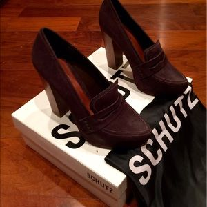 Schultz Shoes - NIP Shultz Anastasia Loafers in brown suede 7.5